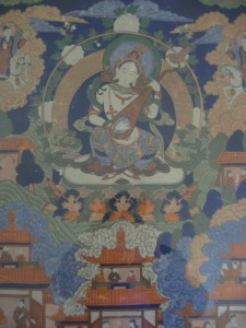 Unknown, Painted in Tibetan Thangka style (detail)