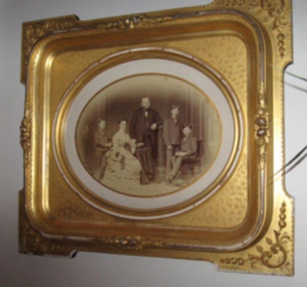 Unknown, Family Portrait-Extraordinary Frame Example